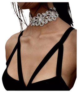 New Stunning Crystal Choker Necklace
