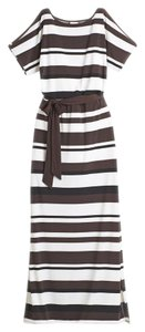 Black/Brown/White Maxi Dress by Chico's Maxi