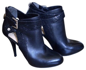 Guess Leather Snake black Boots