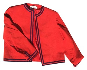 Lilli Ann Red Leather Jacket