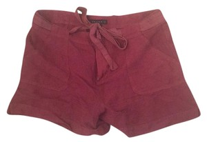 Sanctuary Clothing Dress Shorts Maroon