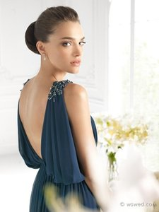 Pronovias Azul Blue It's My Party Pronovias Style 5033 Size 16 Azul Blue This Dress Was Part Of Our In Store Stock. It Has Been Tried On Or Dress