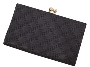ALDO Chanel Quilted Gold Classic Evening black Clutch