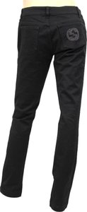 Gucci Jeans Pants Interlocking Black Leggings