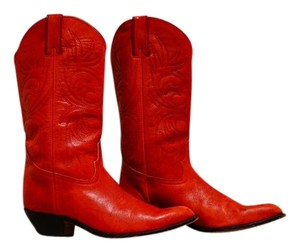 Other Hand-made Custom Cowboy Western Boho red Boots