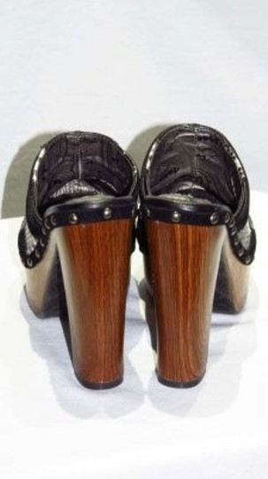 Dollhouse Black & White Mules