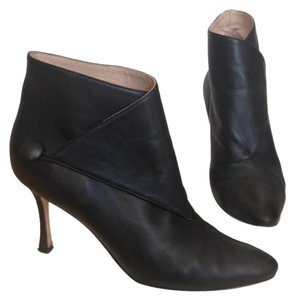 Manolo Blahnik Ankle Boot Black Boots