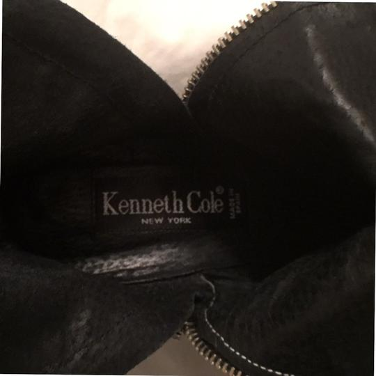 Kenneth Cole Leather Comfortable Hobo International Modern Black Boots Image 5