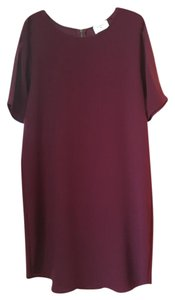 Everly short dress Merlot on Tradesy