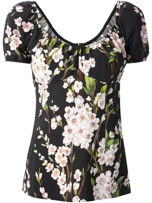 Preload https://item5.tradesy.com/images/dolce-and-gabbana-with-cherry-blossom-print-blouse-size-0-xs-1983544-0-1.jpg?width=400&height=650