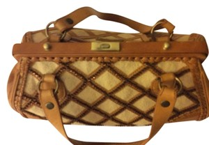 Isabella Fiore Satchel in Golden brown