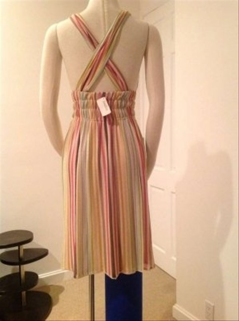 Missoni short dress Striped in vibrant summer colors on Tradesy