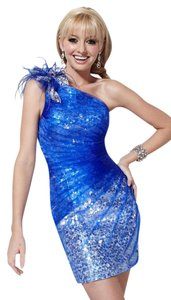 Hannah S Homecoming Cocktail Formal Sequins Pleats Dress