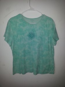Sonoma T Shirt Blue-Green