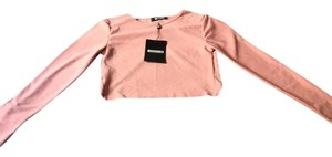 Missguided Top Rose Pink