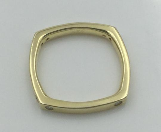 Other Yellow Gold Plated .925 Sterling Silver CZ Square Cocktail Ring Image 11