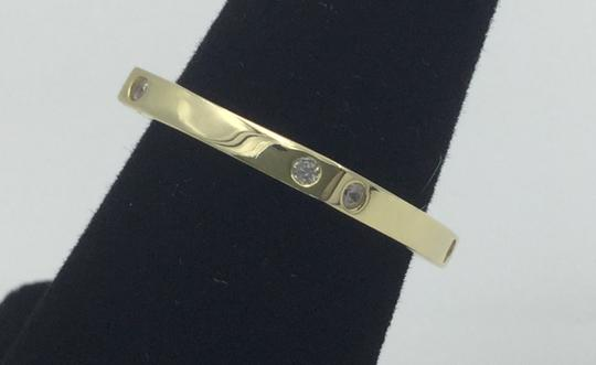 Other Yellow Gold Plated .925 Sterling Silver CZ Square Cocktail Ring Image 5