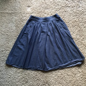 Adrianna Papell Skirt Chambray