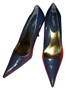 ALDO Navy Pumps