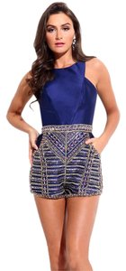 Rachel Allan Homecoming Cocktail Formal Fun Romper Dress