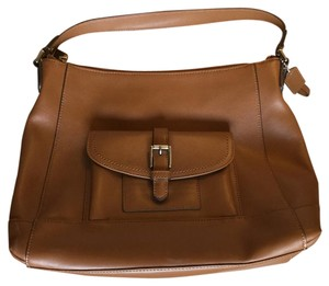 Coach High Quality Leather Satchel in Tan