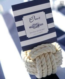 Nautical Knots- Table Number Holders