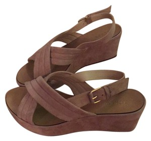 J.Crew Sandy Brown Wedges