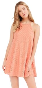 Urban Outfitters short dress Orange on Tradesy