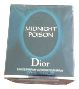 Christian Dior midnight poison 3.4 oz /100 ml rare sold out in store
