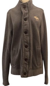 Abercrombie & Fitch Gray Womens Jean Jacket