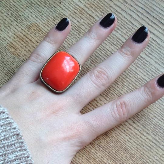 Urban Outfitters Oversized Orange Cocktail Ring