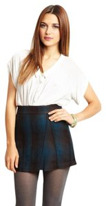 BCBGeneration Mini School Girl And Blue Slim Mini Skirt Cerulean Black Plaid