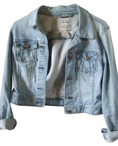 Old Navy Cropped Short Blue Denim Womens Jean Jacket