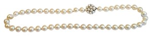 Brooks Brothers Hand Knotted Faux Pearl Necklace