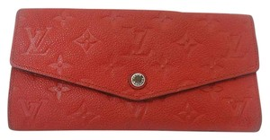 Louis Vuitton Authentic Louis Vuitton Curieuse Cherry Empreinte Leather Wallet