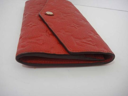 Louis Vuitton Authentic Louis Vuitton Curieuse Cherry Empreinte Leather Wallet Image 2