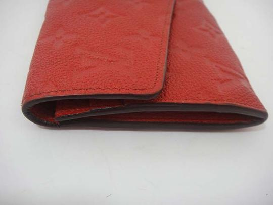Louis Vuitton Authentic Louis Vuitton Curieuse Cherry Empreinte Leather Wallet Image 3