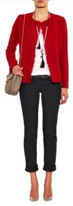 Isabel Marant Nwt Satchell Jacket Jacket Red Blazer