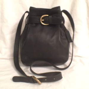 Coach Vintage Leather Hobo Bucket Cross Body Bag