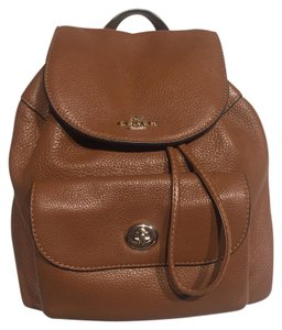 Coach Brown Backpack