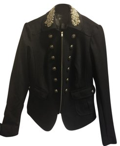 INC International Concepts Blac Blazer