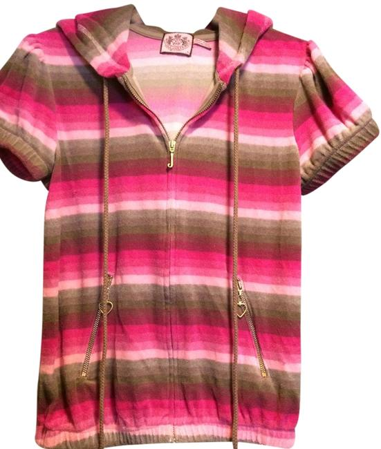 Preload https://item4.tradesy.com/images/juicy-couture-pink-and-brown-stripes-activewear-hoodie-size-12-l-32-33-1983688-0-0.jpg?width=400&height=650