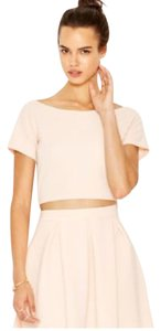 Bar III Crop Top Textured Summer Dress