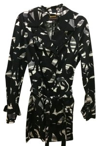 Dana Buchman black grey and white Jacket