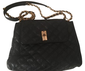 Marc Jacobs Leather Quilted Gold Hardware Shoulder Bag