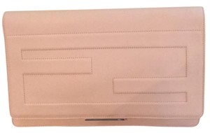 Fendi Pink-skin Color Clutch