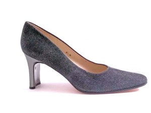 Etienne Aigner New Without Box Flannel Charcoal Gray Pumps