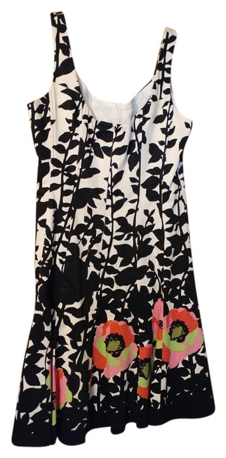 Preload https://img-static.tradesy.com/item/19837099/nine-west-black-and-white-with-flowers-a-line-workcasual-summer-detail-knee-length-workoffice-dress-0-1-650-650.jpg