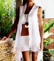 Lirome Sexy Casual Resort Vacation Cardigan Image 6