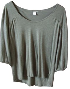 Old Navy High-low Hi-lo Top Green